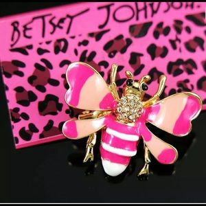 Betsey Johnson bee pin
